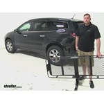 SportRack  Hitch Cargo Carrier Review - 2015 Chevrolet Traverse