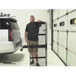 SportRack  Hitch Cargo Carrier Review - 2015 GMC Yukon XL