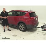 SportRack  Hitch Cargo Carrier Review - 2015 Toyota RAV4