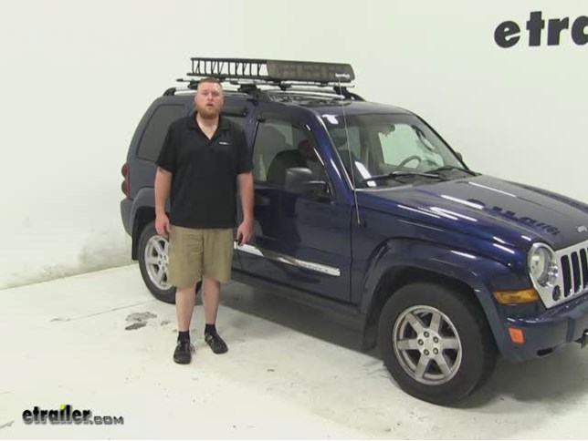 SportRack Roof Cargo Carrier Review   2005 Jeep Liberty Video | Etrailer.com