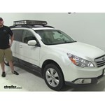 roof top cargo basket to fit 2013 subaru outback wagon. Black Bedroom Furniture Sets. Home Design Ideas