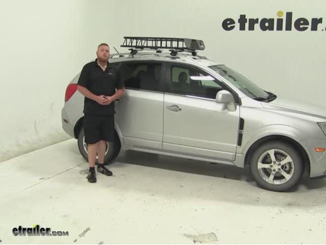 SportRack Roof Cargo Carrier Review   2013 Chevrolet Captiva Sport Video |  Etrailer.com
