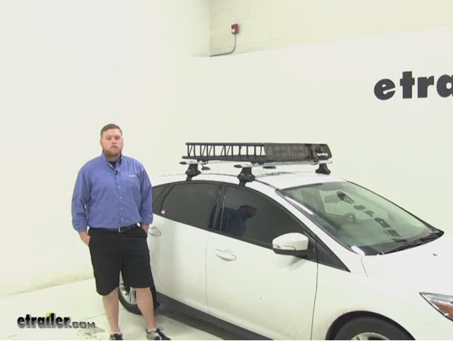 Sportrack Roof Cargo Carrier Review 2014 Ford Focus Video