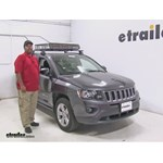 SportRack  Roof Cargo Carrier Review - 2016 Jeep Compass