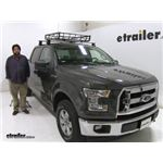 Stallion  Roof Basket Review - 2017 Ford F-150