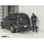 Stromberg Carlson  Hitch Cargo Carrier Review - 2001 Nissan Xterra