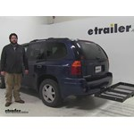Stromberg Carlson  Hitch Cargo Carrier Review - 2002 GMC Envoy