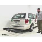 Stromberg Carlson  Hitch Cargo Carrier Review - 2005 Dodge Grand Caravan