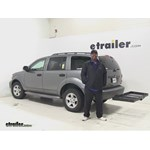 Stromberg Carlson  Hitch Cargo Carrier Review - 2007 Dodge Durango