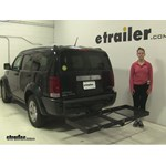 Stromberg Carlson  Hitch Cargo Carrier Review - 2007 Dodge Nitro