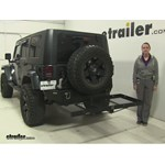 Stromberg Carlson  Hitch Cargo Carrier Review - 2007 Jeep Wrangler Unlimited