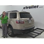 Stromberg Carlson  Hitch Cargo Carrier Review - 2008 GMC Acadia