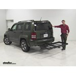 Stromberg Carlson  Hitch Cargo Carrier Review - 2008 Jeep Liberty