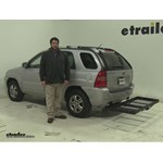 Stromberg Carlson  Hitch Cargo Carrier Review - 2008 Kia Sportage