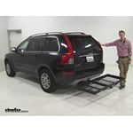 Stromberg Carlson  Hitch Cargo Carrier Review - 2008 Volvo XC90