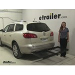 Stromberg Carlson  Hitch Cargo Carrier Review - 2010 Buick Enclave