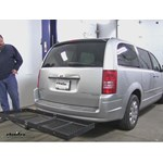 Stromberg Carlson  Hitch Cargo Carrier Review - 2010 Chrysler Town and Country
