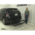 Stromberg Carlson  Hitch Cargo Carrier Review - 2010 Ford Edge