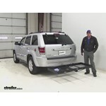 Stromberg Carlson  Hitch Cargo Carrier Review - 2010 Jeep Grand Cherokee