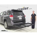 Stromberg Carlson  Hitch Cargo Carrier Review - 2010 Toyota 4Runner