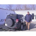 Stromberg Carlson  Hitch Cargo Carrier Review - 2010 Toyota RAV4