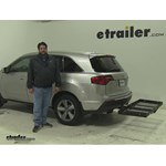 Stromberg Carlson  Hitch Cargo Carrier Review - 2011 Acura MDX