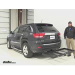 Stromberg Carlson  Hitch Cargo Carrier Review - 2011 Jeep Grand Cherokee
