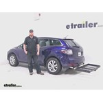 Stromberg Carlson  Hitch Cargo Carrier Review - 2011 Mazda CX-7