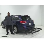 Stromberg Carlson  Hitch Cargo Carrier Review - 2011 Subaru Outback Wagon