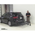 Stromberg Carlson  Hitch Cargo Carrier Review - 2012 Acura MDX
