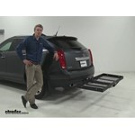 Stromberg Carlson  Hitch Cargo Carrier Review - 2012 Cadillac SRX