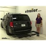 Stromberg Carlson  Hitch Cargo Carrier Review - 2012 Dodge Grand Caravan