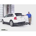 Stromberg Carlson  Hitch Cargo Carrier Review - 2012 Ford Edge
