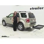 Stromberg Carlson  Hitch Cargo Carrier Review - 2012 Ford Escape