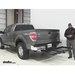 Stromberg Carlson  Hitch Cargo Carrier Review - 2012 Ford F-150