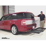 Stromberg Carlson  Hitch Cargo Carrier Review - 2012 Ford Flex