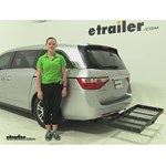 Stromberg Carlson  Hitch Cargo Carrier Review - 2012 Honda Odyssey