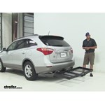 Stromberg Carlson  Hitch Cargo Carrier Review - 2012 Hyundai Veracruz