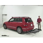 Stromberg Carlson  Hitch Cargo Carrier Review - 2012 Mercedes-Benz GLK-Class