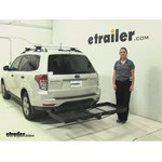 Stromberg Carlson  Hitch Cargo Carrier Review - 2012 Subaru Forester