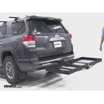 Stromberg Carlson  Hitch Cargo Carrier Review - 2012 Toyota 4Runner