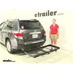 Stromberg Carlson  Hitch Cargo Carrier Review - 2012 Toyota Highlander