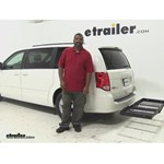 Stromberg Carlson  Hitch Cargo Carrier Review - 2013 Dodge Grand Caravan