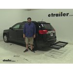 Stromberg Carlson  Hitch Cargo Carrier Review - 2013 GMC Terrain