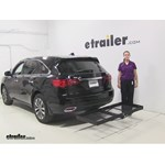Stromberg Carlson  Hitch Cargo Carrier Review - 2014 Acura MDX