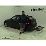 Stromberg Carlson  Hitch Cargo Carrier Review - 2014 BMW X1