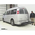 Stromberg Carlson  Hitch Cargo Carrier Review - 2014 Chevrolet Express Van