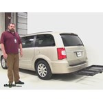 Stromberg Carlson  Hitch Cargo Carrier Review - 2014 Chrysler Town and Country