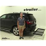 Stromberg Carlson  Hitch Cargo Carrier Review - 2014 Dodge Durango