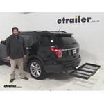Stromberg Carlson  Hitch Cargo Carrier Review - 2014 Ford Explorer